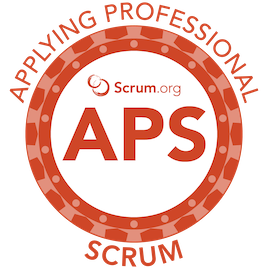 Applying Professional Scrum APS Logo